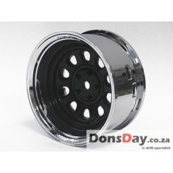 Super RIM Chrome and Black Sunflower 4pcs set