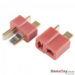 Deans Plug Male & Female (Pair)