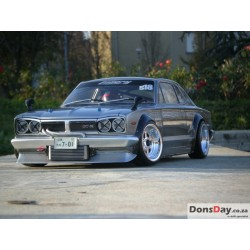 ABC Hobby NISSAN SKYLINE GT-R HAKOSUKA Street Over Fender Ver. 200mm Body Set