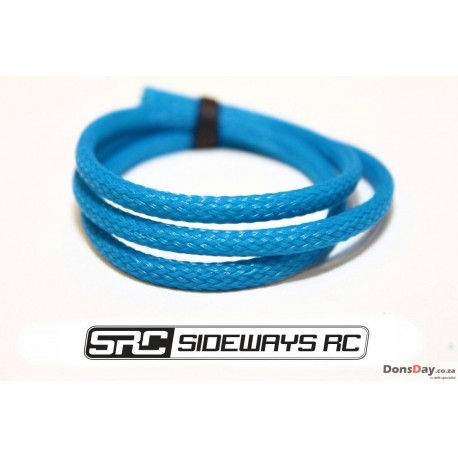 SRC wire sleeve 50cm (White, purple, black, red, yellow, eagle blue/Tamiya blue)
