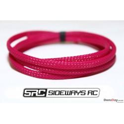 SRC wire sleeve 1m (White, purple, black, red, yellow, eagle blue/Tamiya blue)