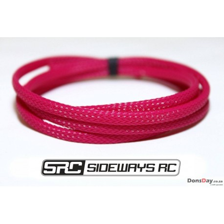 SRC wire sleeve 1m (White/Black/Yellow)