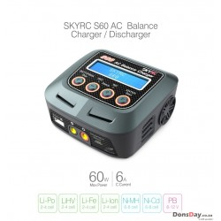 SkyRC S60 AC High-Voltage LiPo Balance Charger
