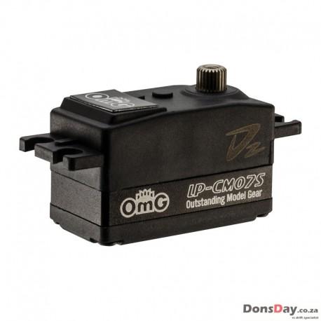 OmG RC Car Low Profile Full Metal Coreless Digital Servo 1/10