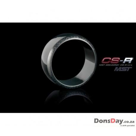 MST CS-R Tire Soft Red Dot 4pcs For 1/10 Drift