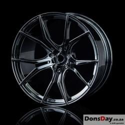 MST Silver black FX wheel (+5) 4pcs