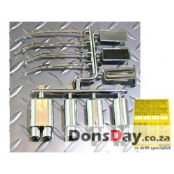 ABC Muffler wiper set-plated Chrome