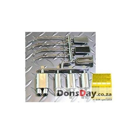 ABC Muffler wiper set-plated Chrome