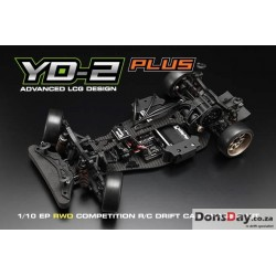 Yokomo 1/10 YD-2 PLUS RWD Competition Drift Car Kit (carbon fiber) World 2016, 2017 Championship Top 10 winner Drift chassis
