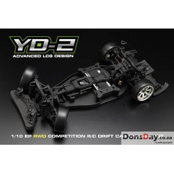 Yokomo 1/10 YD-2G RWD Competition Drift Car Kit World 2016, 2017 Championship Top 10 winner Drift chassis