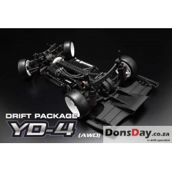 Yokomo 1/10 Drift Package YD-4 4WD Competition Drift Car Kit with FCD1.5 World 2016&2017 Championship Top 10 winner chassis