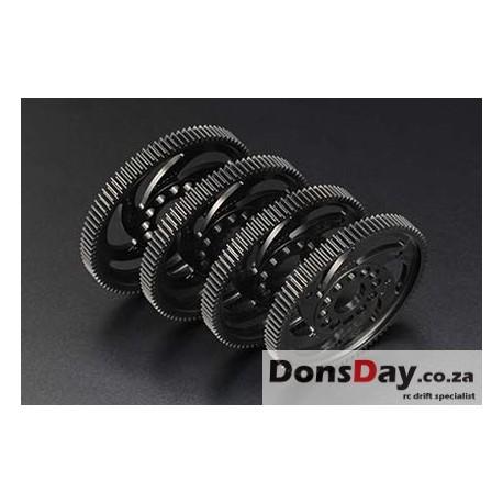 Yokomo - Axon Spur Gear Precision 80T / 48P - Black
