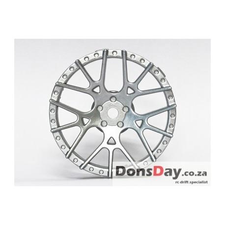 Lycoris Disc  Silver 2pcs