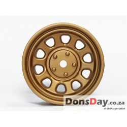 "TT-7619 ""Super RIM"" DISC ""Sunflower"" Gold 2pcs"