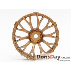 "TT-7634 ""Super RIM"" DISC ""Daisy"" Gold 2pcs"
