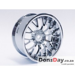 "TT-7637 Super RIM Chrome set ""Daisy"" 4pcs"
