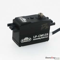 OMG D2-LP-CM13S Low Profile Full Metal Coreless Digital Servo