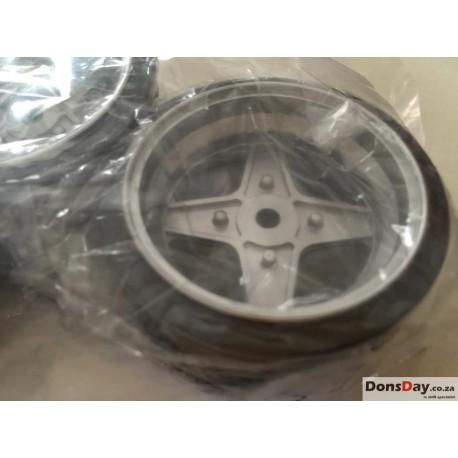 Classic 7 Cross wheels set 4pcs 6mm