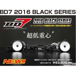 Yokomo 1/10 BD7 2016 Black Series Electric Touring Car Kit