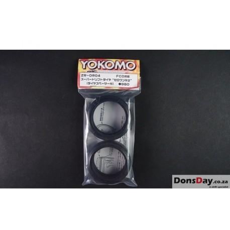 Yokomo Super Drift Tire Zero One R2 2pcs