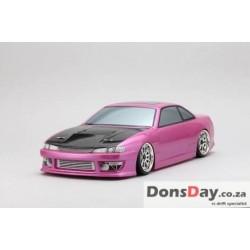 Yokomo 460 power S14 Silvia body