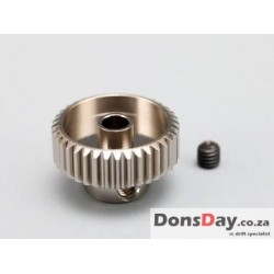 Yokomo hard coated Alum pinion gear DP48 17T