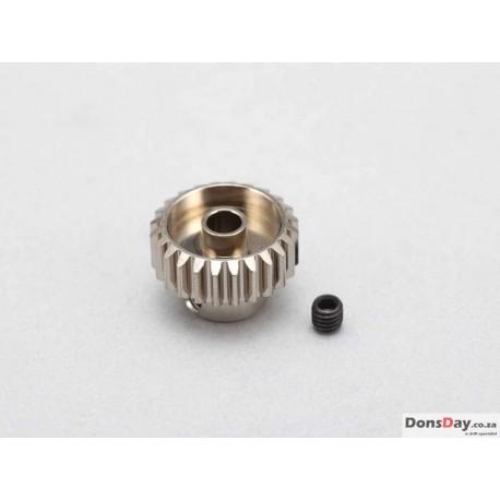 Yokomo Hard coated Alum Pinion Gear DP48 31T