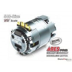 SKYRC ARES PRO 10.5T 3450KV Brushless Sensored Modified 540 Competition Motor