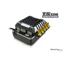SKYRC Aluminum TORO TS120A Brushless Sensored ESC For 1/10 1/8 RC Car Black
