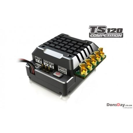 SKYRC Aluminum TORO TS120A Brushless Sensored ESC For 1/10 1/8 RC Car Black