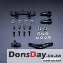 Usukani/5:5 Balance Design AL Steering Set For YD-2 (Black)