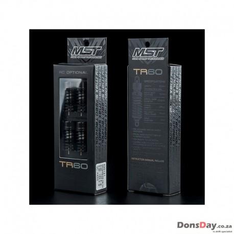 MST TR60 Aluminum Damper Set Black For 1/10 RC Car