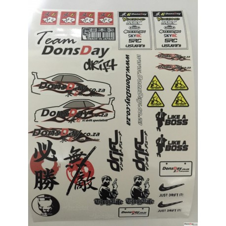 DonsDay 2017 worlds limited edition sticker Ver.3