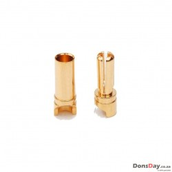 3.5mm Male and Female plug set 2pcs for ESC/Motor
