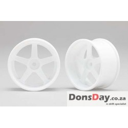 Yokomo Racing Performer Drinft wheel 5 spoke (8mm Off set/White) 4pcs
