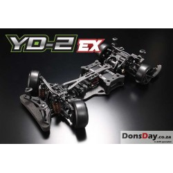 Yokomo 1/10 YD2-EX RWD Competition Drift Car Kit (Pre-order only)