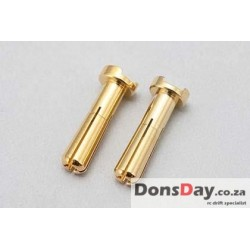 Yokomo Racing Performer 24K Gold plug (Φ4mm/2 pcs)