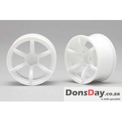 Yokomo Racing Performer Drinft wheel 6 spoke (8mm Off set/White) 4pcs