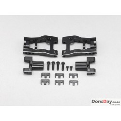 "YOKOMO Aluminum Adjustable Rear ""H"" Arm Kit for YD-2/YD-4"