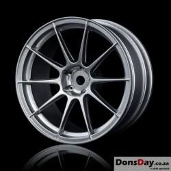 MST Flat silver 5H wheel (+5) (4)