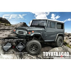 MST CFX 1/10 4WD High Performance Off-Road Car KIT (w/ESC&motor, TOYOTA LC40)