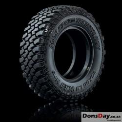 """MST KM Crawler tire 30X90-1.9"""" (medium-40°) (2)"""