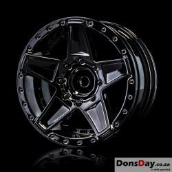 """MST Silver black 648 1.9"""" wheel (+5) (4)"""