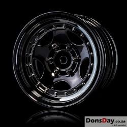 """MST Silver black 236 1.9"""" wheel (+5) (4)"""