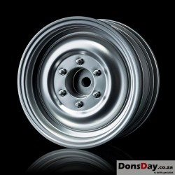 "MST Flat silver 60D 1.9"" crawler wheel (+5) (4)"
