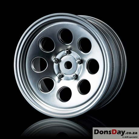 "MST Flat silver 58H 1.9"" crawler wheel (+5) (4)"