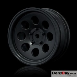 "MST Black flat 58H 1.9"" crawler wheel (+5) (4)"