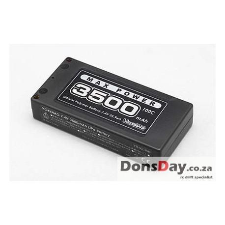 Yokomo short  Lipo 3500mah 100C (professional drift recommend)