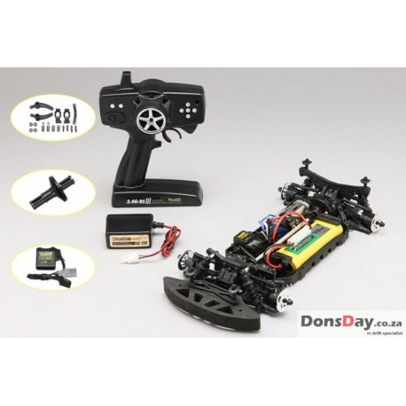 Yokomo drift package RTR COMBO set 2.4G RSIII