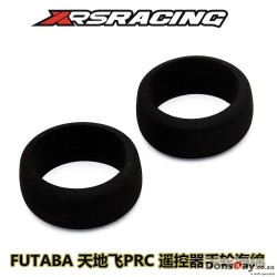 XRS Radio control wheel sponge (Black) for Futaba radio 2pcs